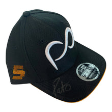 Load image into Gallery viewer, *Autographed* Black Curved Bill Patricio O'Ward #5 Cap