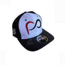Load image into Gallery viewer, *Autographed* White Curved Bill Patricio O'Ward #5 Cap