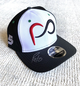 *Autographed* White Curved Bill Patricio O'Ward #5 Cap