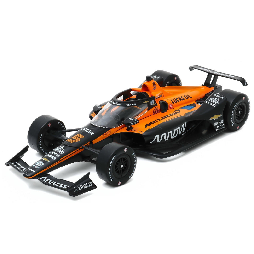 *Autographed* NTT IndyCar Series Patricio O'Ward #5 Arrow McLaren SP 1:18 Diecast Car