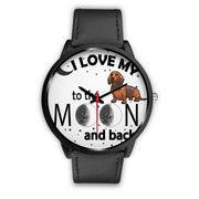 i love my dog to the moon and back - The product stop
