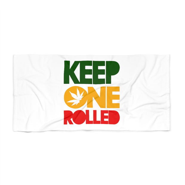 KEPP ONE ROLLED Beach Towel