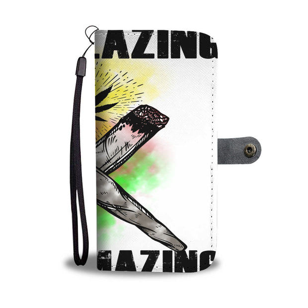 KEEP BLAZING Wallet Case
