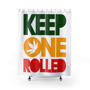 KEPP ONE ROLLED Shower Curtains