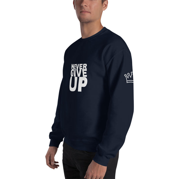 Unisex Sweatshirt with Soft Feel and Reduced Plling