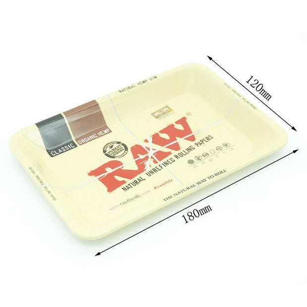 1pcs Metal Storage Rolling Paper RAW Tray Dish