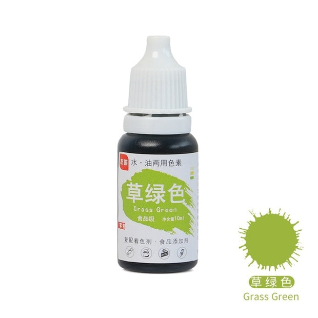 Food Coloring Pigment 10ML - 24 Colors  Available