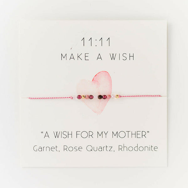 A Wish For My Mother Wish Bracelet