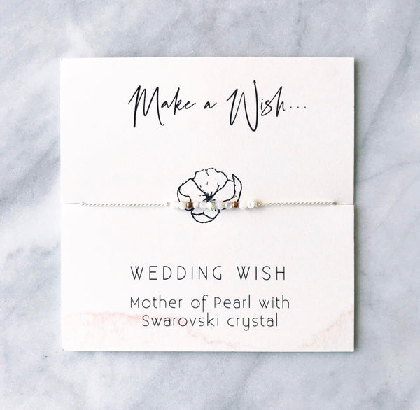 Wedding Wish Bracelet