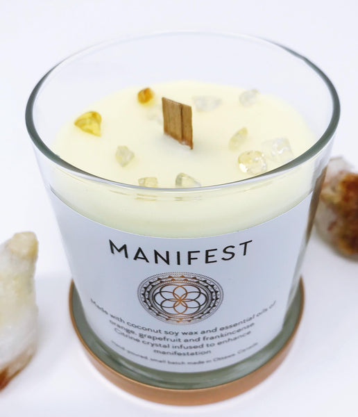 Manifest Candle