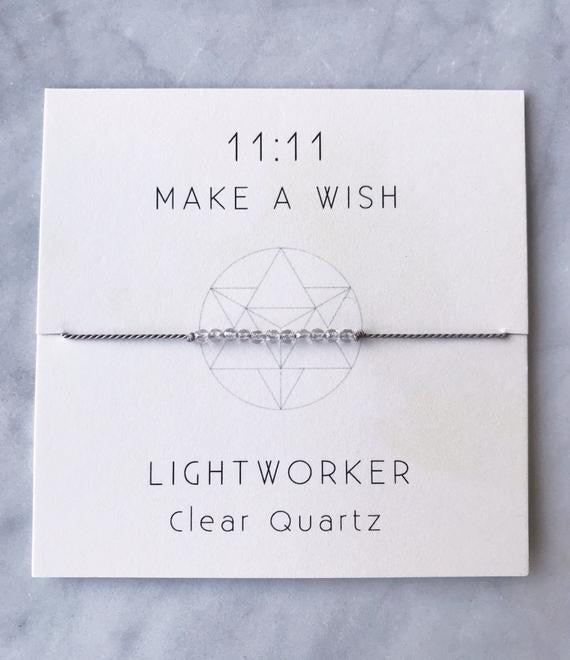 Lightworker Wish Bracelet