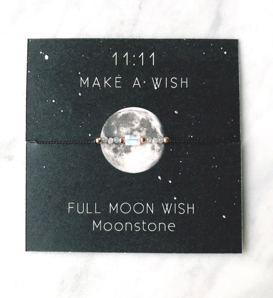 Full Moon Wish Bracelet