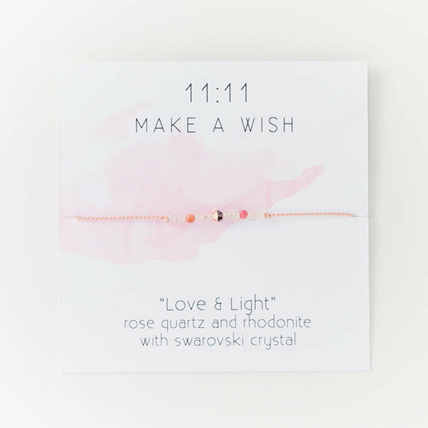 Love & Light Wish Bracelet