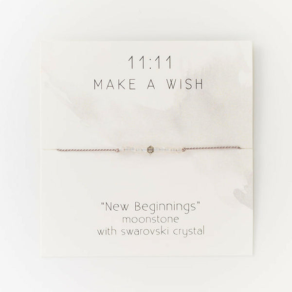 New Beginnings Wish Bracelet