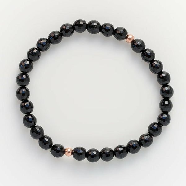 Let Go Faceted Mala Bracelet