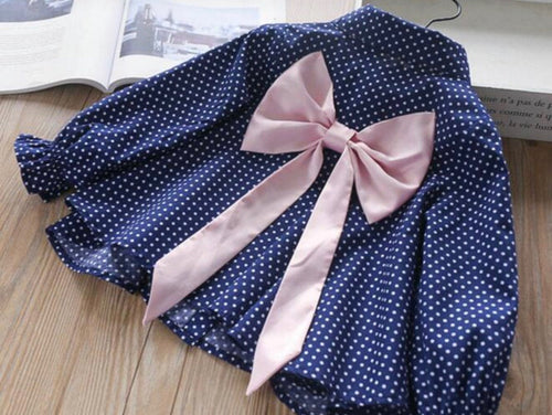 Sophie Bow Tie Shirt