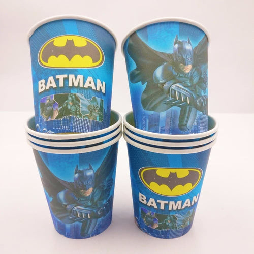 Batman Themed Blue Party Cups