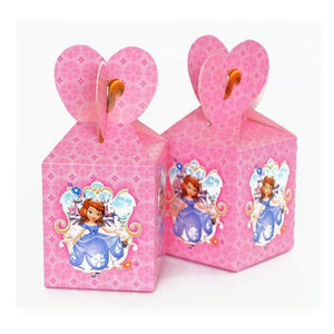 Sofia Theme Pink Colored Cute Party Loot Box