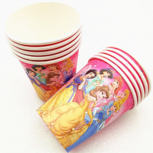 Pink Disney Princesses Themed Party Cups Great For Birthday Parties