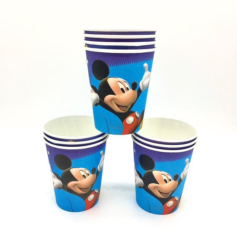 Mickey Mouse Themed Blue Party Cups For Party Celebrations