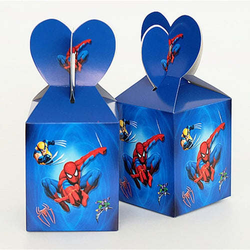 Spiderman Theme  Kiddie  Party Loot Box