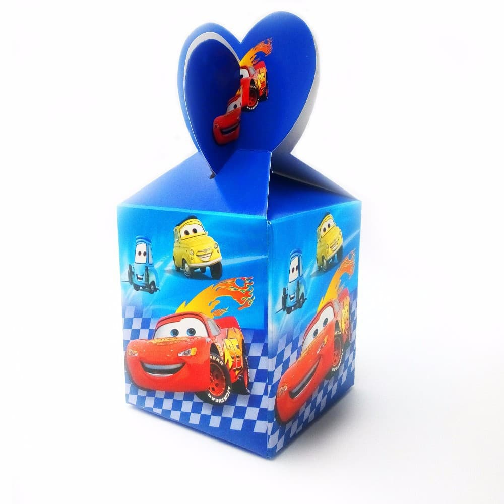 Cars Lightning McQueen Themed Party Loot Box