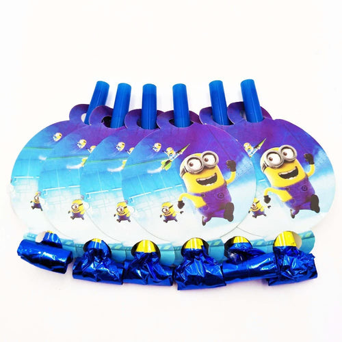 Minions Noise Maker/Whistle Blowouts Party Decoration