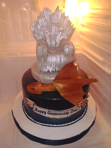 Game of Thrones-Inspired Cake