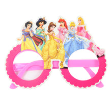 Load image into Gallery viewer, Disney Princess Themed Kiddie Paper Wear Glasses