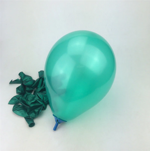 Green Latex Helium Balloon For Party Celebrations