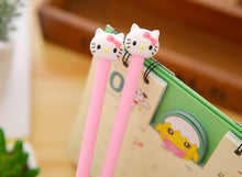 Load image into Gallery viewer, Two Cute Hello Kitty Themed Gel Pen