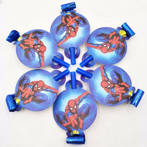 Spiderman Noise Maker/Whistle Blowouts Party Decoration