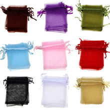 Load image into Gallery viewer, 50 PCS. Organza Bags Perfect for Wedding and Party Favors