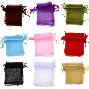 50 PCS. Organza Bags Perfect for Wedding and Party Favors