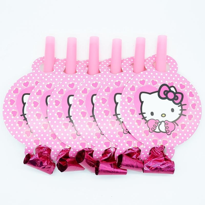 Hello Kitty Noise Maker/Whistle Blowouts Party Decoration