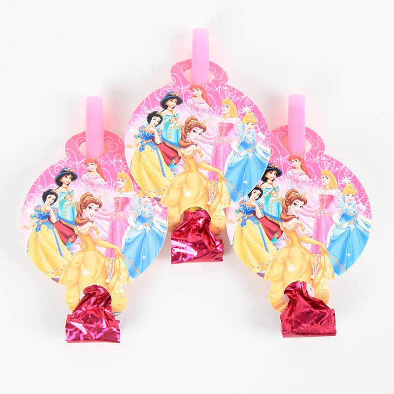 Disney Princess Noise Maker/Whistle Blowouts Party Decoration