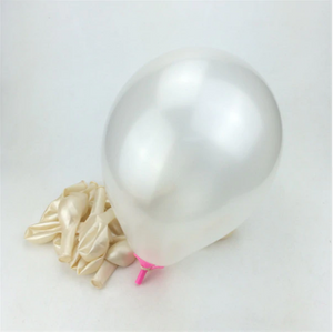 Milk White Latex Helium Balloon Fit For Wedding Celebrations