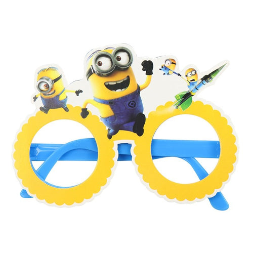 Minions Theme Kiddie Party Paper Wear Glasses
