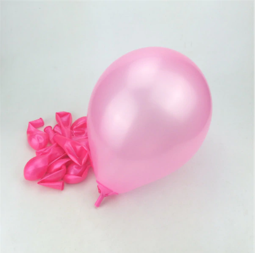 Pink Latex Helium Balloon For Party Celebrations