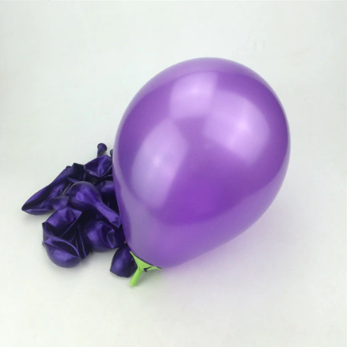 Purple Latex Helium Balloon For Family Gatherings
