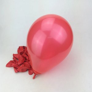 Red Latex Helium Balloon For Party Celebrations