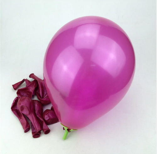 Rose Colored Latex Helium Balloon Perfect For Romantic Dates