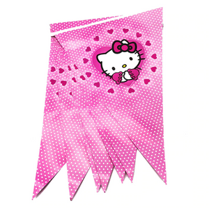 2.5 Meters Long Hello Kitty Print Party Banner
