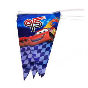 Cars Lightning McQueen Inspired Party Banner