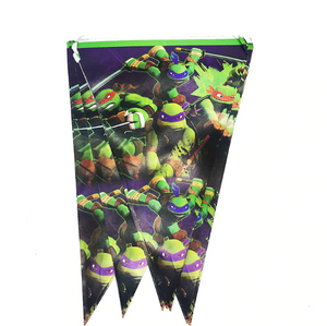 2.5 Meters Long Ninja Turtle Print Party Banner