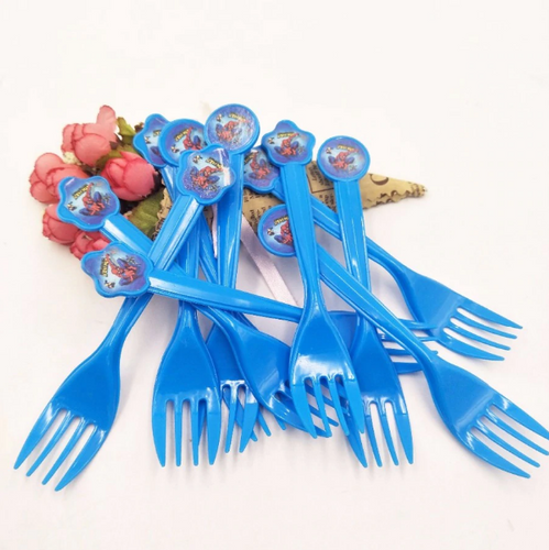 Spiderman Plastic Forks