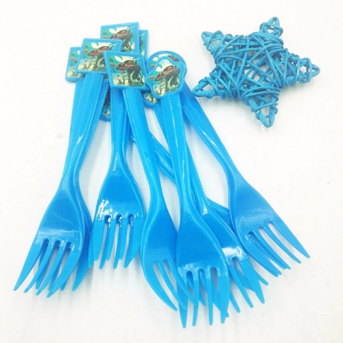 Moana Theme Kiddie Party  Plastic Forks