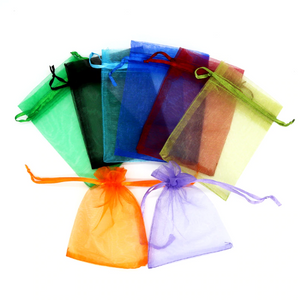 Multi-color Organza Bags Perfect for Wedding and Party Favors