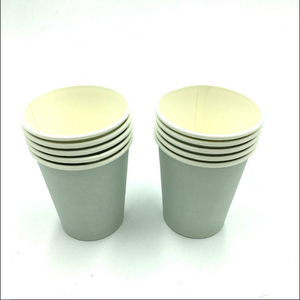 Plain Grey Colored Party Cups