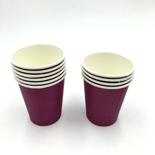 Load image into Gallery viewer, Plain Violet Colored Party Cups